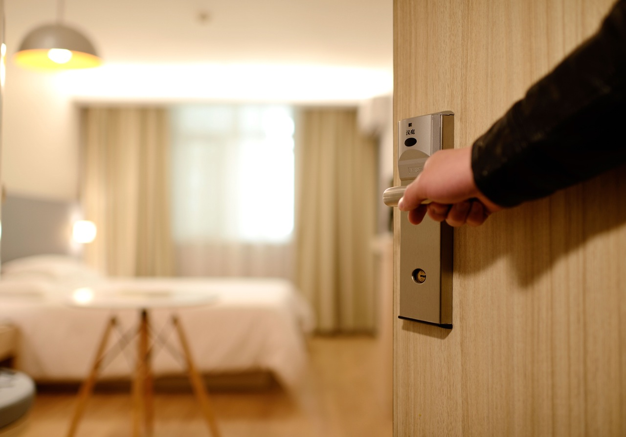Open Hotel Room Door