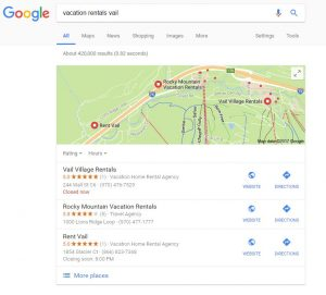 Sample Local Search Result