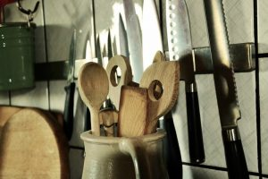 Utensils in a Vacation Rental Kitchen