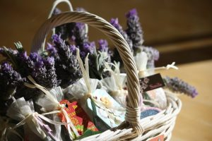 Welcome Basket in a Vacation Rental